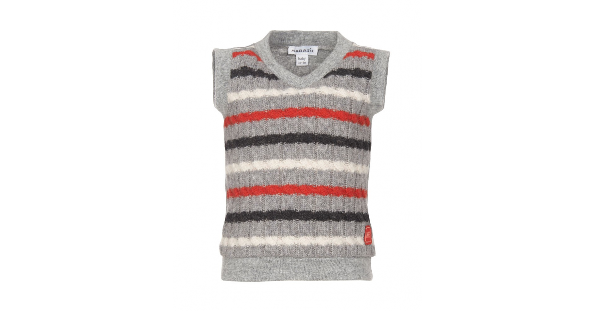 6fc0893bae6 Παιδική καζάκα πλεκτή Marasil - Χειμερινά - Ζακέτες και Πλεκτά - για Αγόρια  - Παιδικά Ρούχα KidsWear