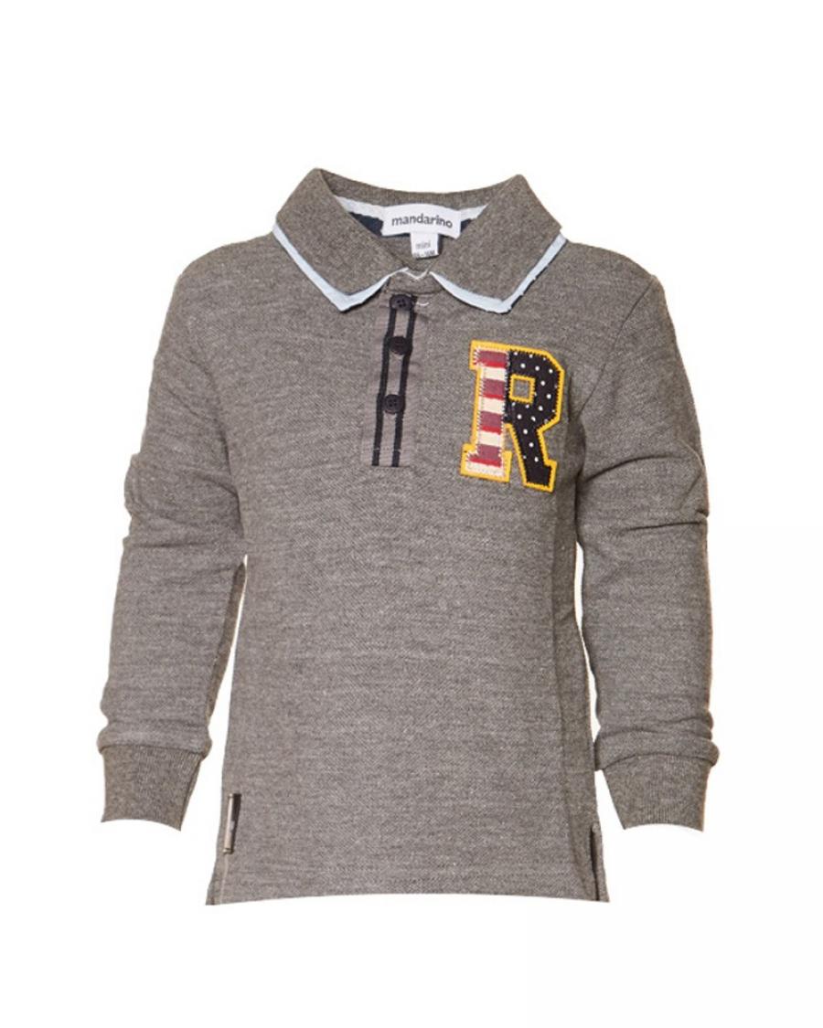 99670e59cde Παιδική μπλούζα polo Mandarino - Χειμερινά - Μπλούζες - για Αγόρια - Παιδικά  Ρούχα KidsWear