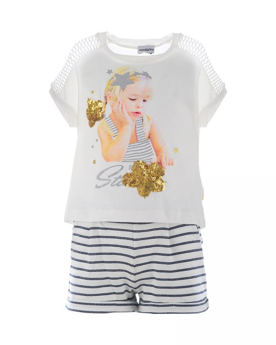 Παιδικό σετ Mandarino - Καλοκαιρινά - για Κορίτσια - Παιδικά Ρούχα KidsWear 7eb5926dda9