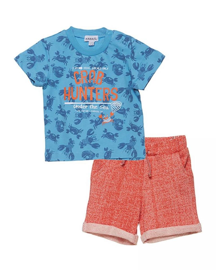715d674e547 Marasil Βρεφικό σετ Marasil - Καλοκαιρινά - Σετ - για Αγόρια - Παιδικά Ρούχα  KidsWear