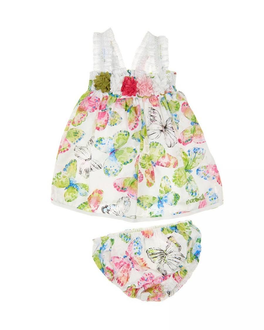 15240205ed0 Βρεφικό φόρεμα με βρακάκι Marasil - Καλοκαιρινά - Φορέματα και Φούστες -  για Κορίτσια - Παιδικά Ρούχα KidsWear