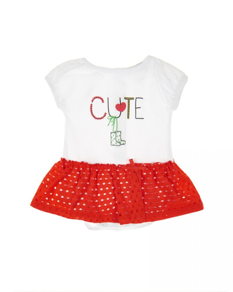 2f8fb6cda1d Βρεφικό φορμάκι φουφούλα Marasil - Καλοκαιρινά - Φορμάκια - για Κορίτσια - Παιδικά  Ρούχα KidsWear