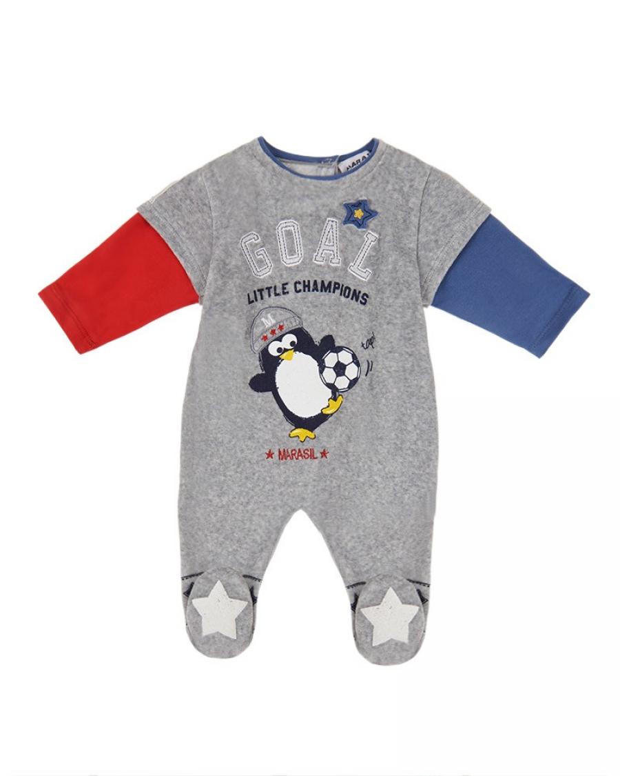 b86e2c2c338 Βρεφικό φορμάκι με τύπωμα Marasil - Χειμερινά - Φορμάκια - για Αγόρια - Παιδικά  Ρούχα KidsWear
