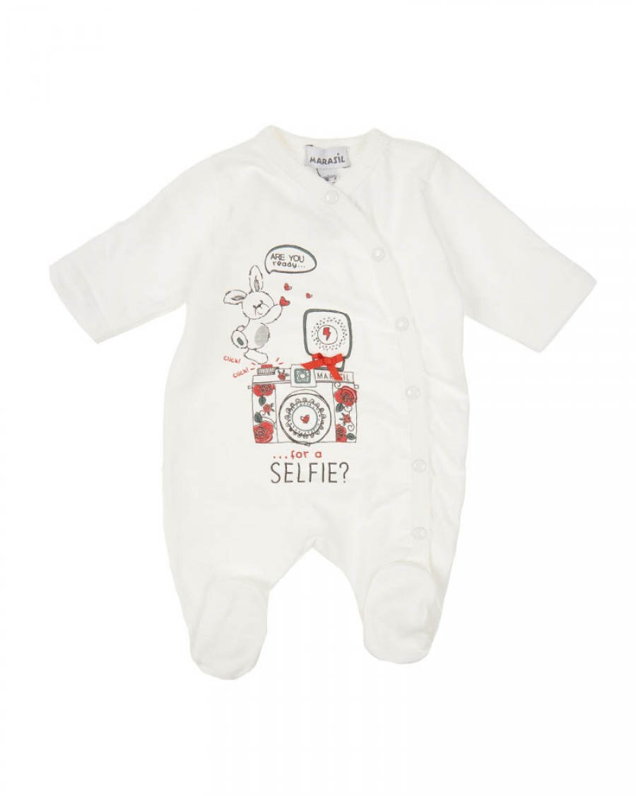 5600b76bd79 Βρεφικό φορμάκι με τύπωμα Marasil - Χειμερινά - Φορμάκια - για Κορίτσια - Παιδικά  Ρούχα KidsWear
